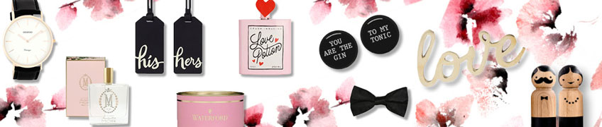 A great range of gift ideas for valentines day