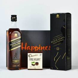 Johnnie Walker Black (hamper)