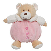 Snuggles Bear in Baby Pink