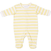 Marquise Yellow Stripe Studsuit