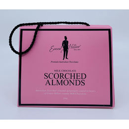 Ernest Hillier Milk Chocolate Scorched Almonds 200g