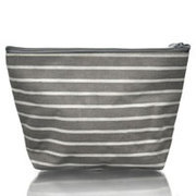 Stripe Cotton Cosmetic Bag